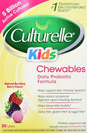 4. Culturelle Kids Chewables.