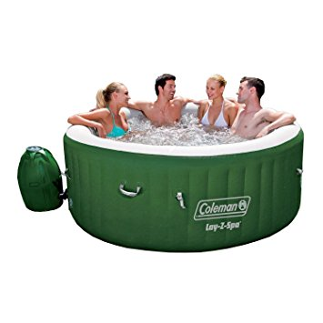 2. Coleman Lay Z Spa Inflatable Hot Tub