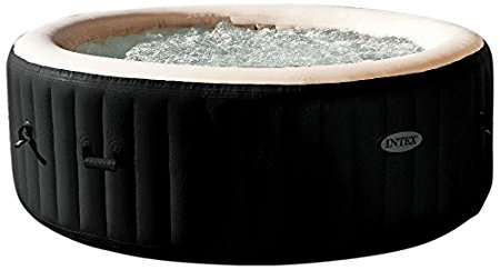 10. Intex PureSpa Jet & Bubble Deluxe Portable Hot Tub