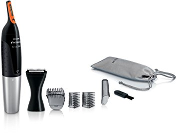 4. Philips NT5175/49 Norelco Nose Trimmer 5100 Trimmer