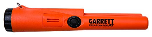 3. Garrett 1140900 Pro-Pointer AT Waterproof Pinpointing Metal Detector, Orange