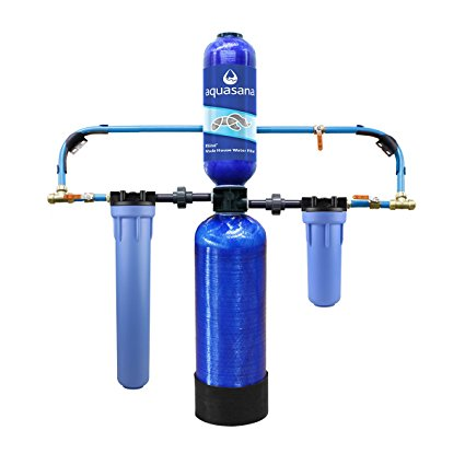 8. Aquasana 10-Year, 1,000,000 Gallon Whole House Water Filter with Professional Installation Kit