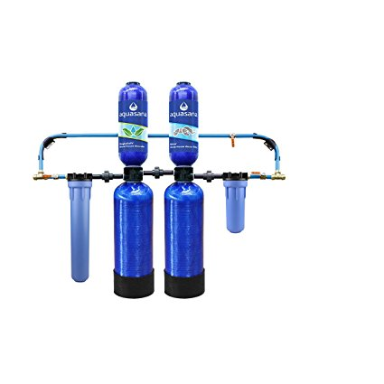 10. Aquasana 10-Year, 1,000,000 Gallon Whole House Water Filter with Salt-Free Softener