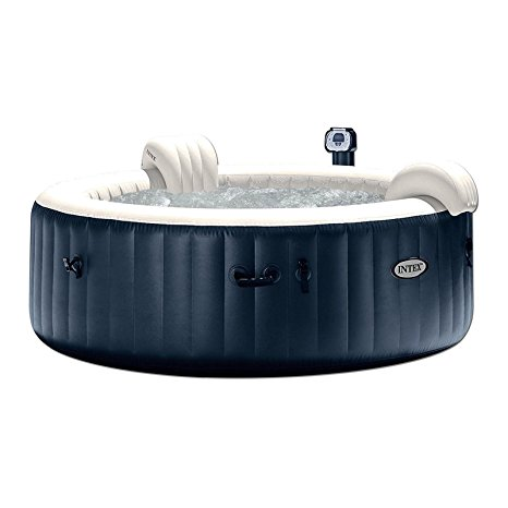 9. Intex Pure Spa 6-Person Inflatable Portable Heated Bubble Hot Tub
