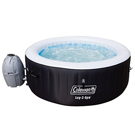 7. Coleman SaluSpa 4 Person Portable Inflatable Outdoor Spa Hot Tub