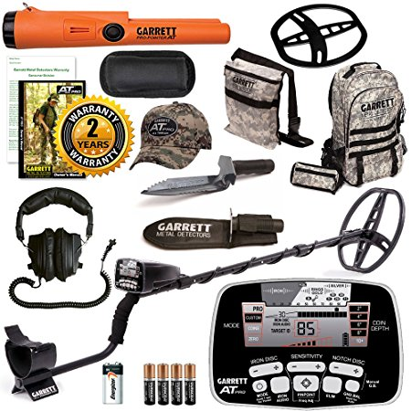 10. Garrett AT Pro Metal Detector Bonus Pack with ProPointer AT and Edge Digger