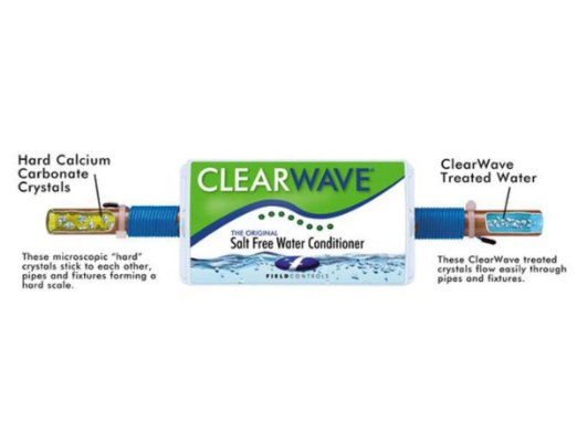 2. Clearwave CW-125 Salt Free Electronic Water Conditioner