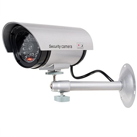 3. WALI Bullet Dummy Fake Surveillance Security CCTV Dome Camera