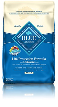 5. BLUE Life Protection Formula Adult Dry Dog Food - Chicken and Brown Rice