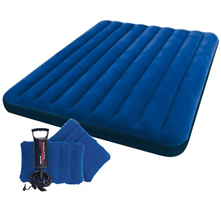 2. Intex Classic Downy Airbed