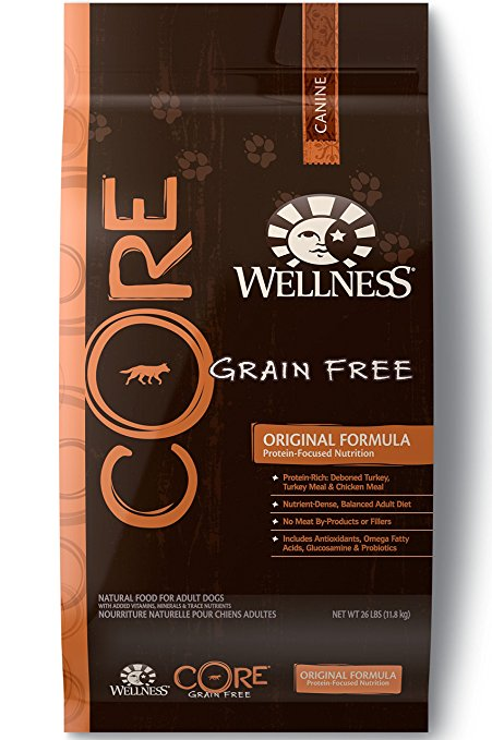 8. Wellness CORE Natural Grain Free Dry Dog Food