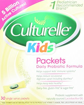 8. Culturelle Kids Packets Daily Probiotic Formula