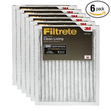 1. Filtrete Clean Living Basic Dust Filter