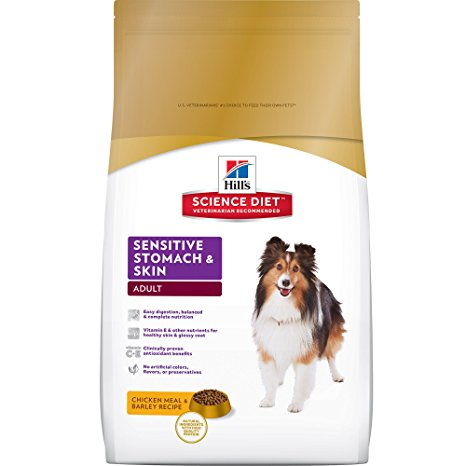 6. Hill's Science Diet Adult Sensitive Stomach & Skin Dry Dog Food