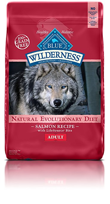 9. BLUE Wilderness High Protein Grain-Free Adult Dry Dog Food