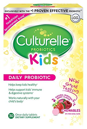 3. Culturelle Kids Chewables Daily Probiotic Formula