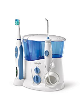 10. Waterpik Complete Care Water Flosser and Sonic Toothbrush