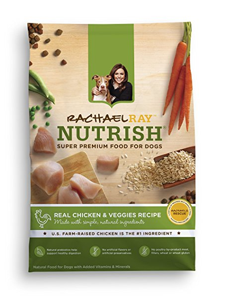 7. Rachael Ray Nutrish Natural Dry Dog Food