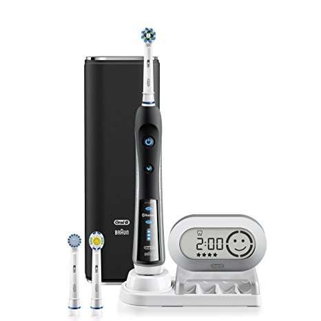 5. Black Electronic Power Rechargeable Toothbrush
