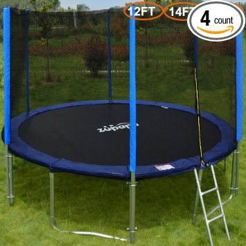 4. Zupapa 15 14 12 Ft TUV Approved Trampoline
