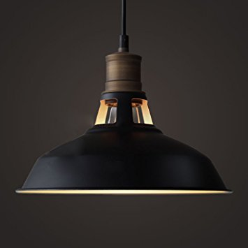 9. CLAXY Ecopower Industrial Barn Mini Metal Pendant Light