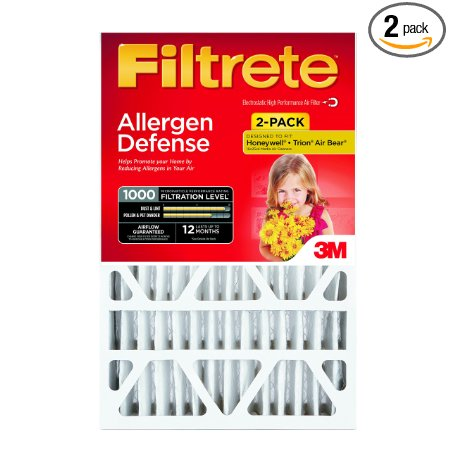 7. Filtrete Micro Deep Pleat Filter