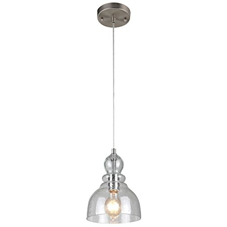 4. Westinghouse 6100700 Industrial One-Light Adjustable Mini Pendant