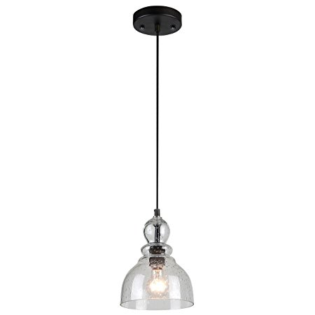 3. Westinghouse 6100800 Industrial One-Light Adjustable Mini Pendant