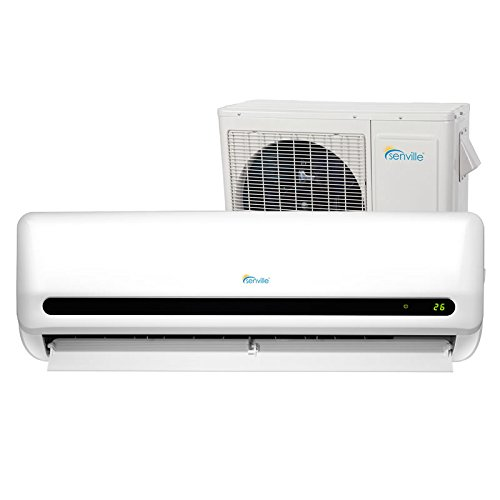2. Senville SENL-18CD 18000 BTU 15 SEER Split Air Conditioner and Heat Pump