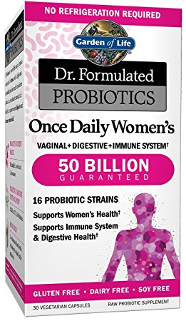 2. Garden of Life Dr. Formulated Once Daily Women's Probiotics