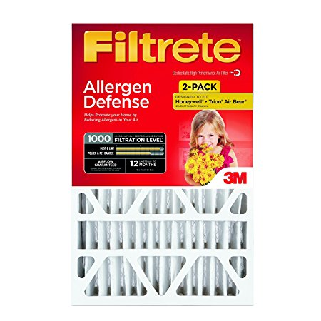 8. Allergen Defense Deep Pleat Filter