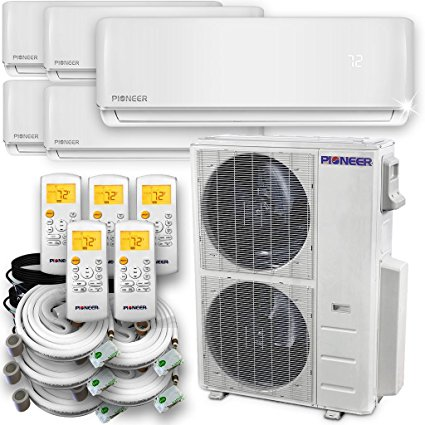 5. Pioneer Air Conditioner Inverter++ Ductless Wall Mount Multi Split System