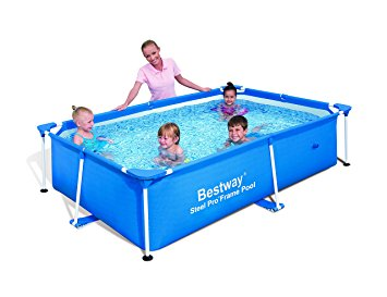 8. Bestway Rectangular Splash Frame Pool