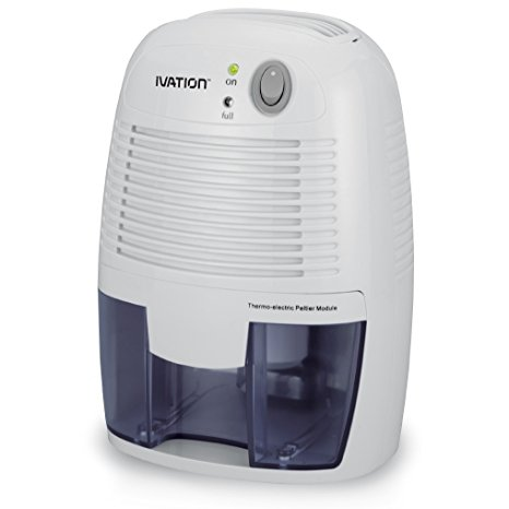 9. Ivation IVAGDM20 DehumMini Powerful Small-Size Thermo-Electric Dehumidifier