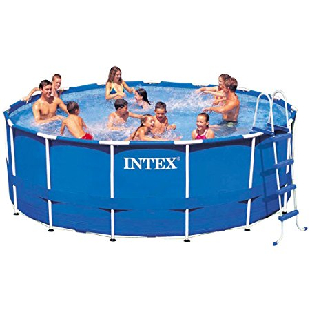 5. Intex 15ft X 48in Metal Frame Pool Set