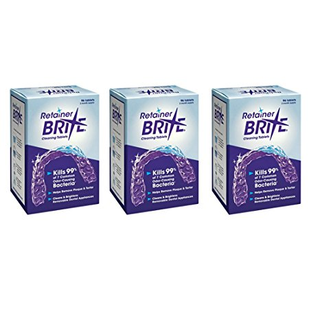 10. Retainer Brite Tablets, 288 Tablets (9 Month Supply)
