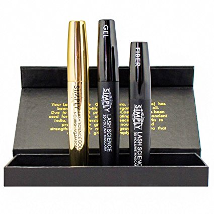 2. 3D Fiber Lash Mascara with Growth Enhancing Serum-(from the Simply Naked Beauty)