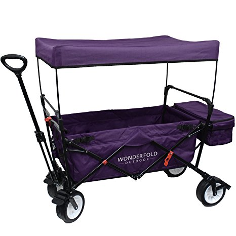 9. WonderFold Outdoor high-Outdoor Utility Collapsible Folding Wagon