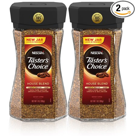 7. NescafeTaster's Choice House Blend Instant Coffee,