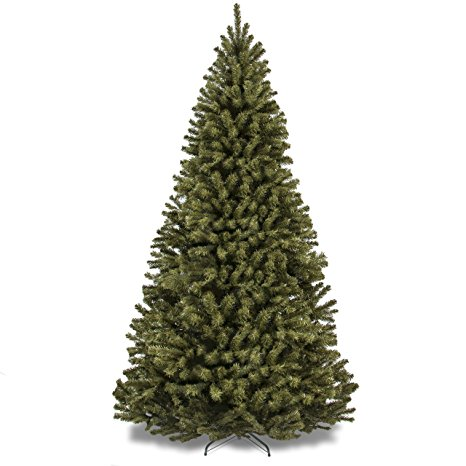 2. Best Choice Products 7.5' Premium Spruce Hinged Artificial Christmas Tree W/ Stand