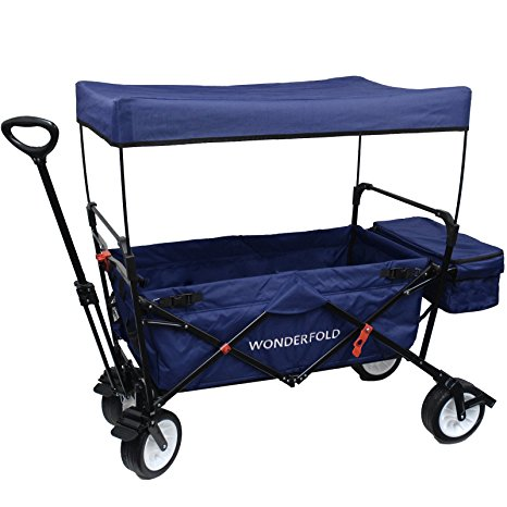 7. WonderFold Outdoor Collapsible Folding Wagon