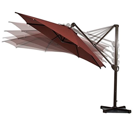 7. Abba Patio offset patio umbrella