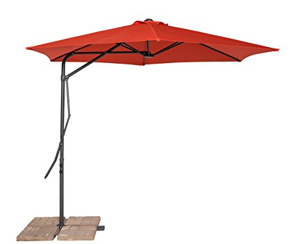8. California sun shade cantilever umbrella