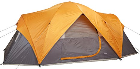 3. Coleman Tenaya Lake 8 Person Fast Pitch Instant Cabin Camping Tent w/WeatherTec
