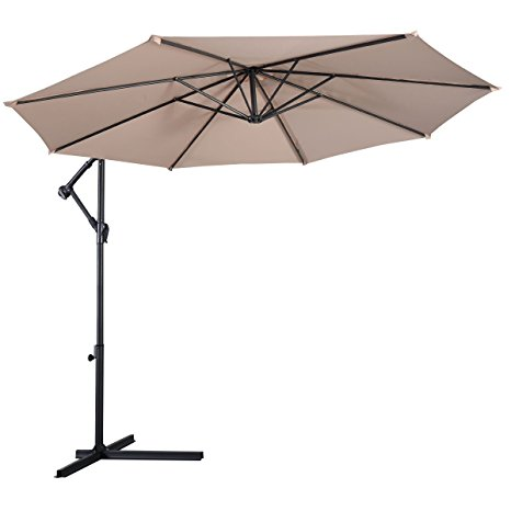 3. Giantex hanging umbrella