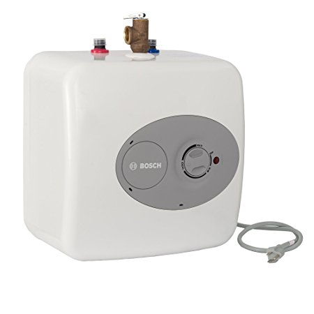 6. Bosch thermotechnology, Bosch Tronic 3000 T 2.5-Gallon Electric Mini-Tank water heater