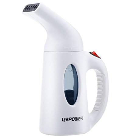 1. URPOWER Garment Steamer 130ml Portable Handheld Fabric Steamer Fast Heat-up Powerful Travel Garment Clothes Steamer