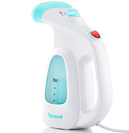 6. BIZOND Portable Garment Steamer for Clothes, Fabric, Dresses