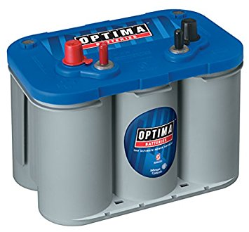 1. Optima Batteries 8016-103 D34M BlueTop Starting and Deep Cycle Marine Battery