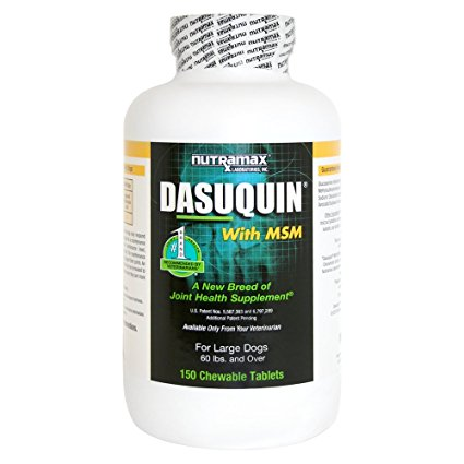 5. Nutramax Dasuquin with MSM Chewable Tablets for Dogs